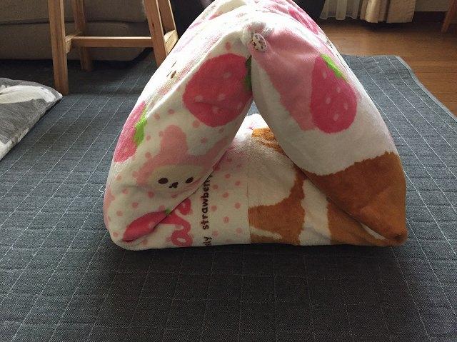 犬のドーム型ベッド
