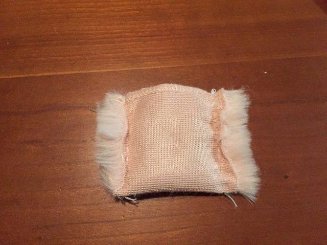 ファーリボンまつり縫い