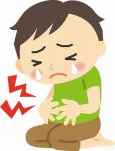 胃の痛みを抑える