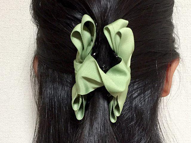 手作りヘアアクセサリー
