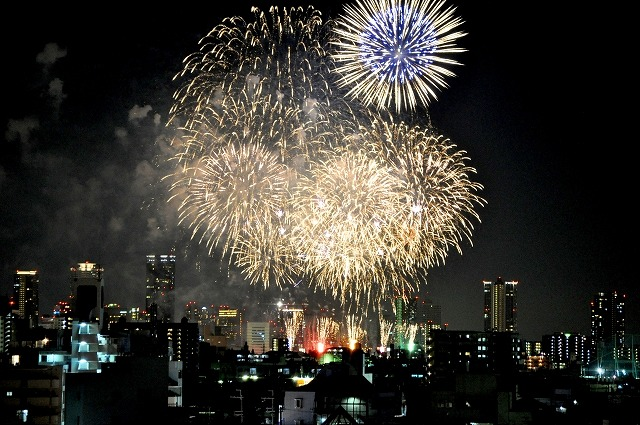 淀川花火大会の見えるホテル