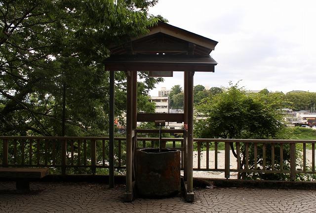 奈良吉野川湧水