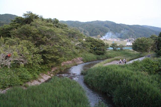 大柳生の白砂川蛍スポット