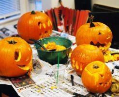 ハロウィンのかぼちゃの切り抜き方