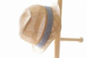運動会の暑さ対策に帽子