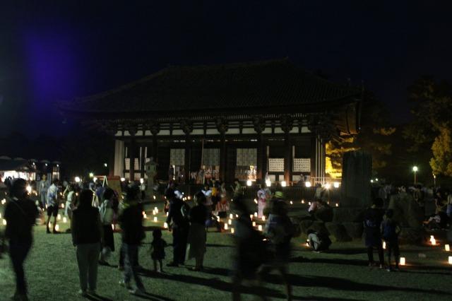 興福寺の混雑具合